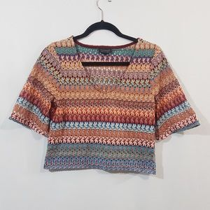 TOPSHOP - Crocheted crop top